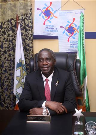Dr. Jide Akeredolu- District Governor, 2019-20
