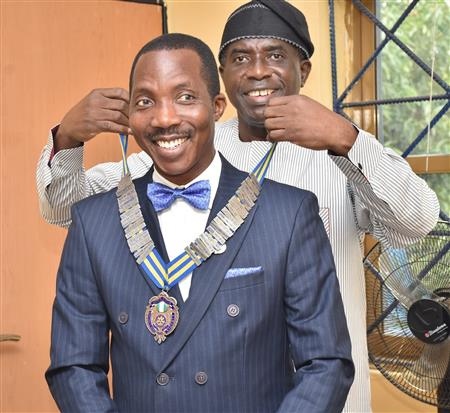 Welcome District Governor Bola Oyebade