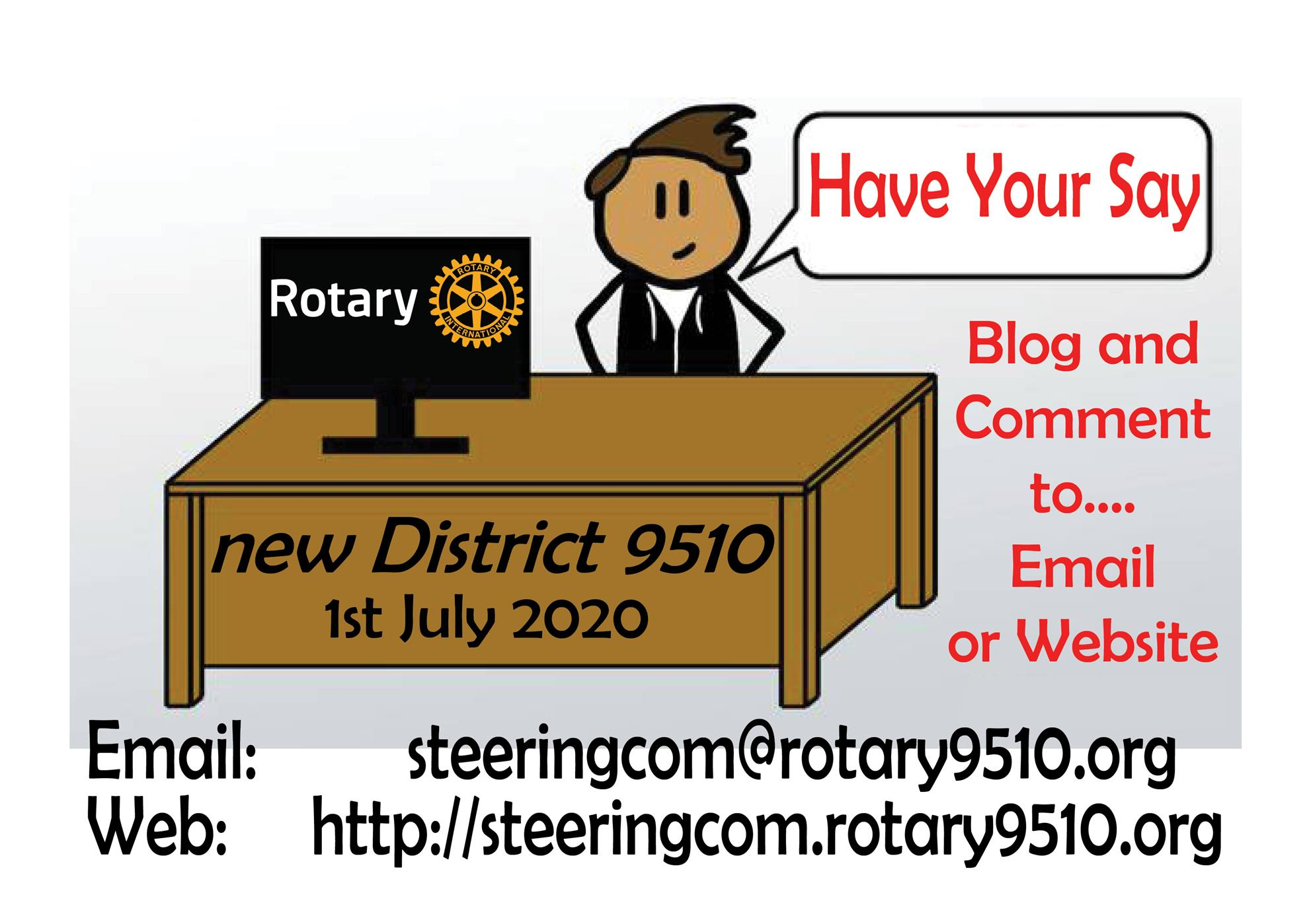 Home Page | Rotary District 9500