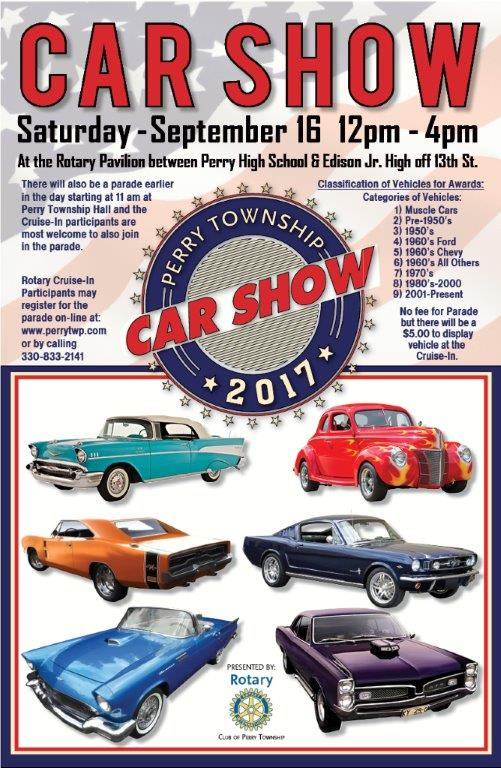 Perry Township Car Show Rotary District - Car show award categories