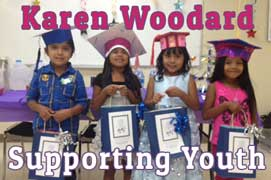 karen woodard kids support