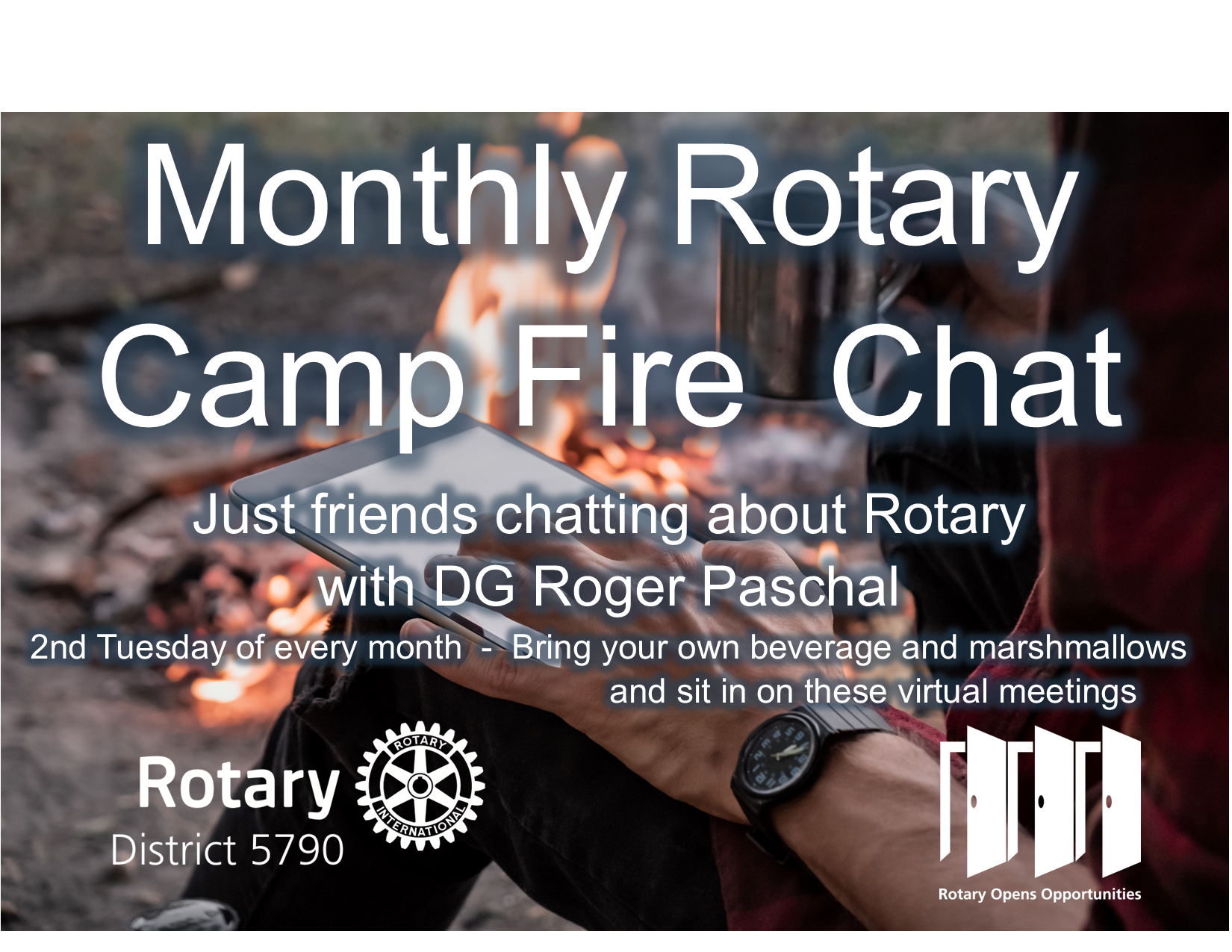 Monthly fire side chats with DG Paschal