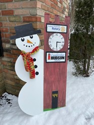 Leadership Hudson Alumni Association Snowman 2021