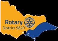 District 9820 logo