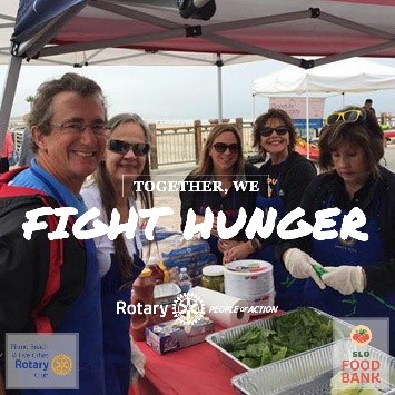 COVID 19 - Together, We Fight Hunger. | Living in Pismo Beach