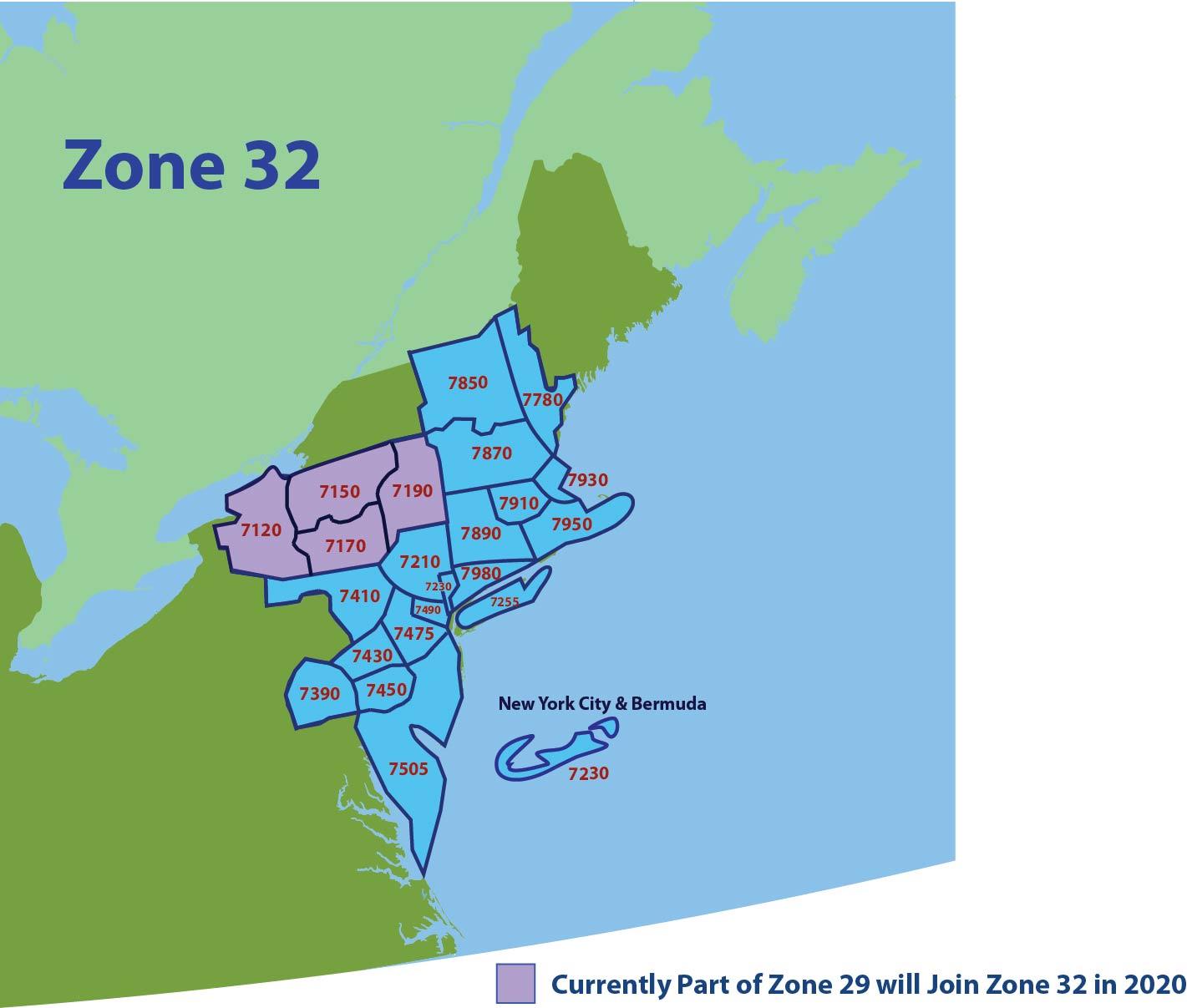 Zones 24 & 32 maps 2019