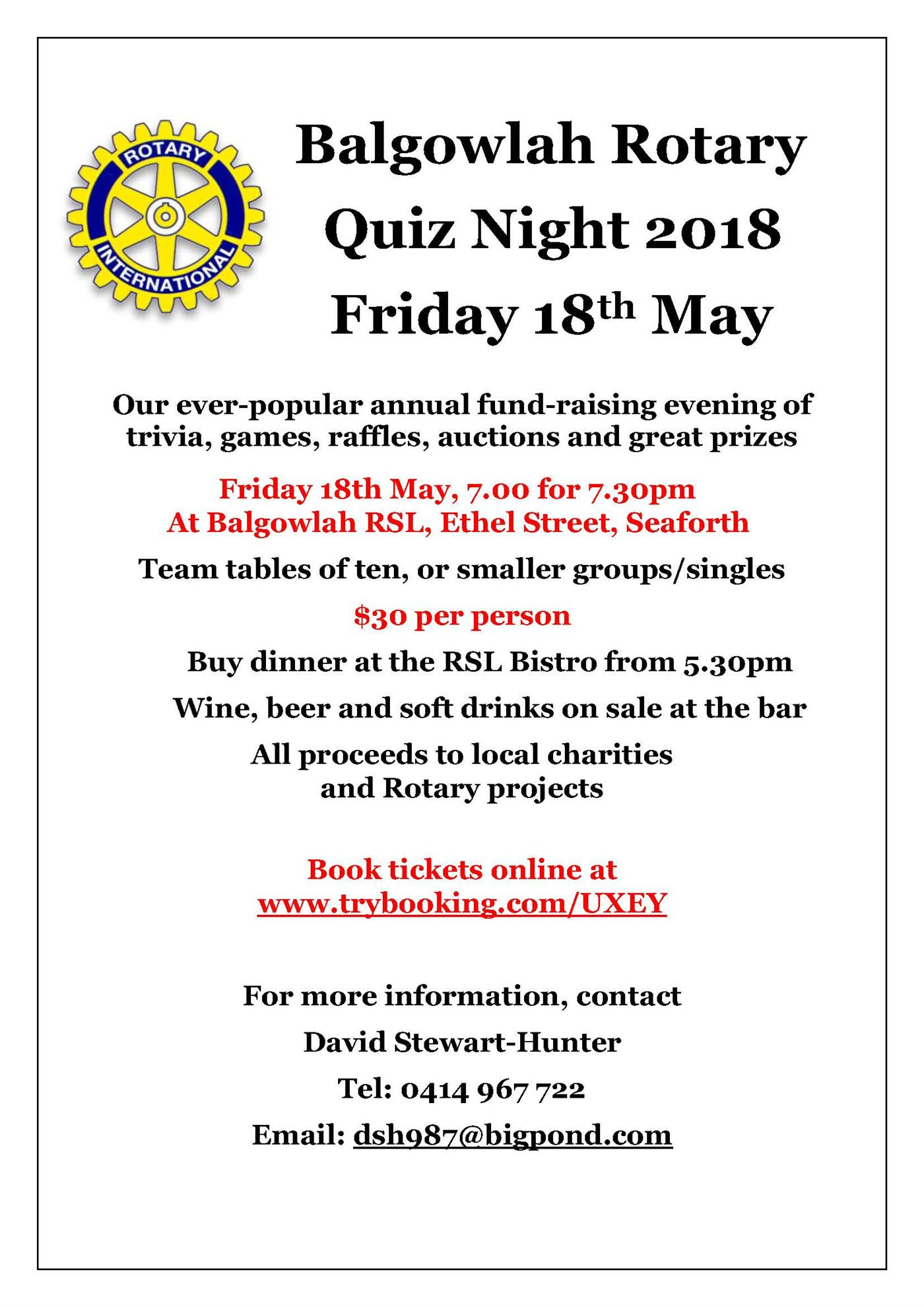 Stories rotary district 9685 quiz night fandeluxe Choice Image