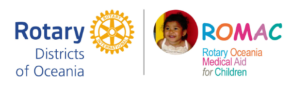 Rotary Oceania Medical Aid For Children (ROMAC) | Rotary District 9685