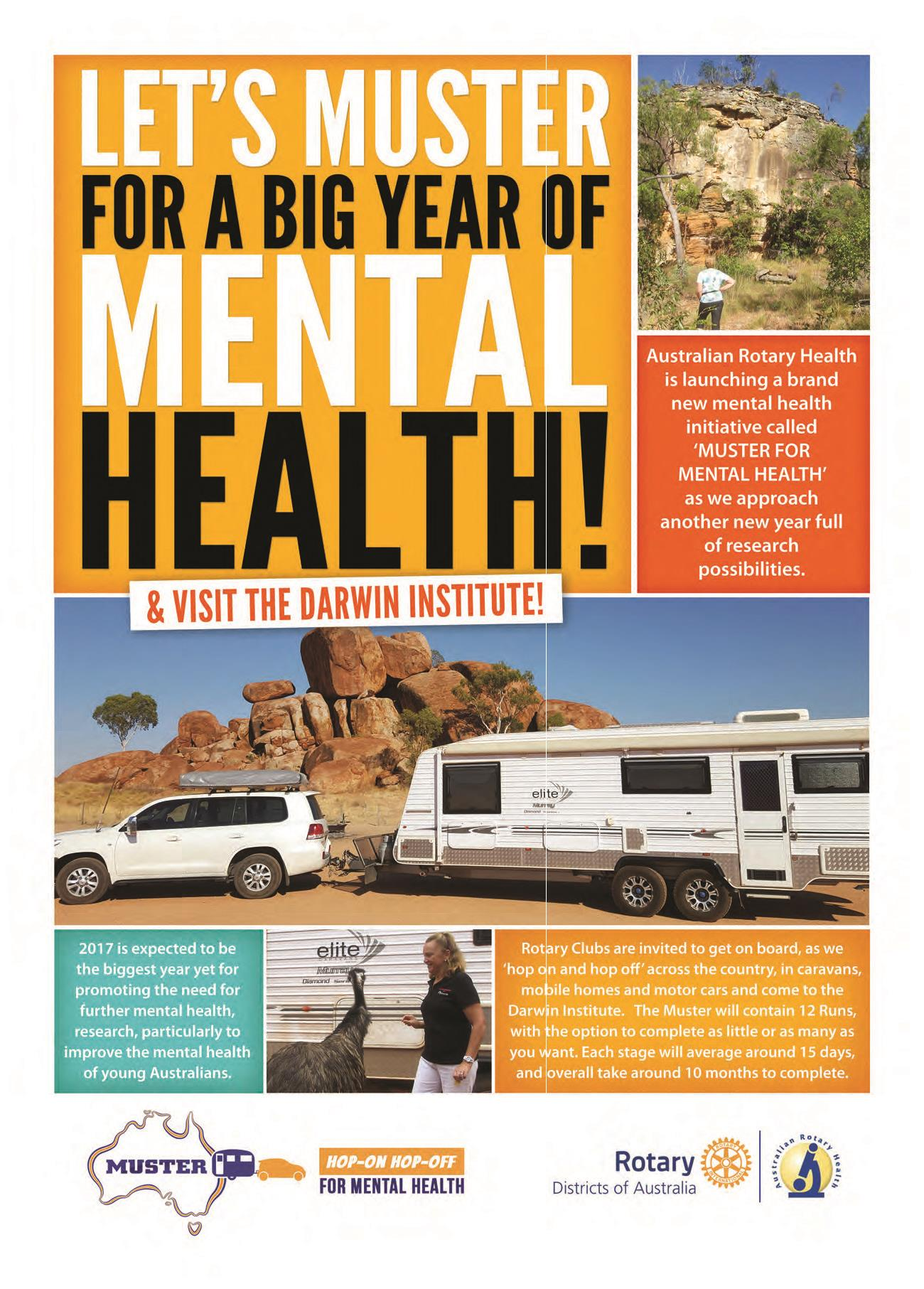 muster for mental health - Flyer Muster