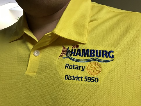 57f636bc If that includes you, find your 5950 friends by wearing your custom  convention polo. It is Nike, Dri-fit, Golf shirt ...