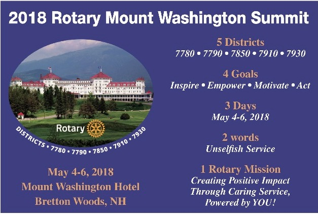 Rotary District 7780 Newsletter - August 2017 (Aug 01, 2017)