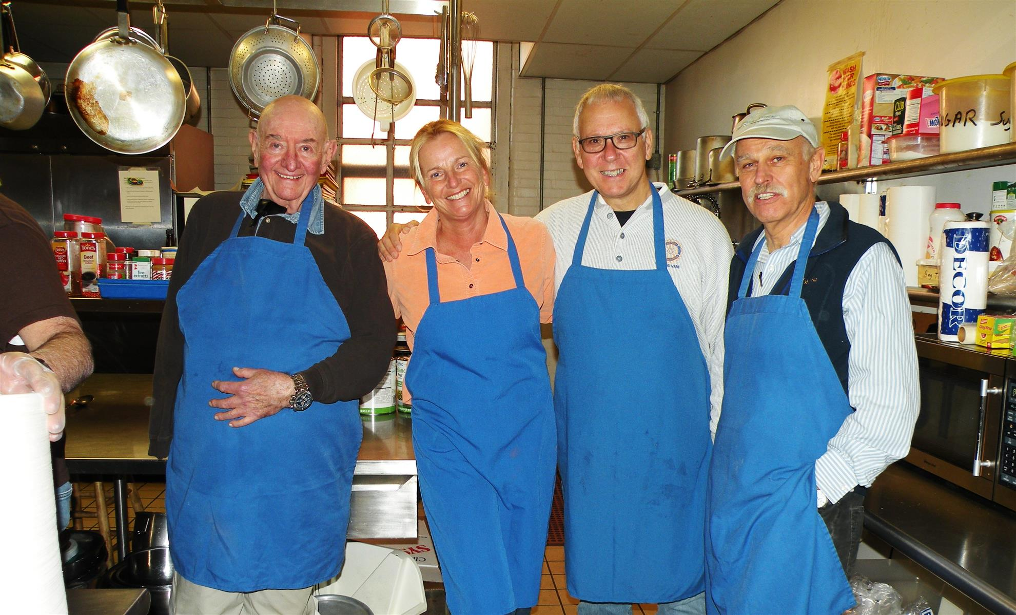 ... Amy Chipman, Mike Fortunato And Derek Greven Join The Volunteers Who  Annually Serve A Thanksgiving Lunch Meal At The St.. Vincent De Paul Soup  Kitchen ...