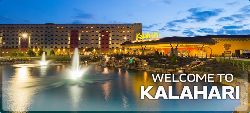 Welcome to Kalahari Resort