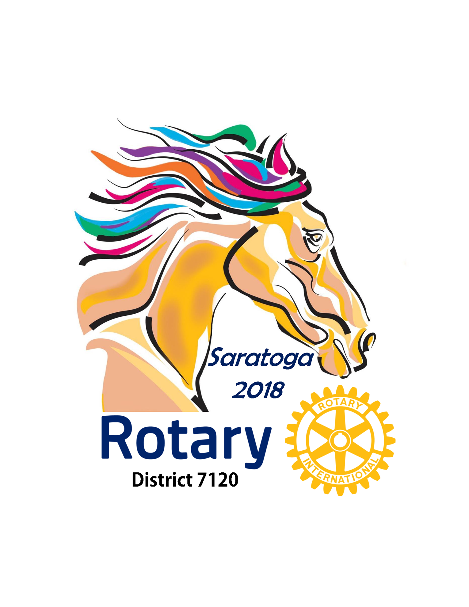 Saratoga District Conference Logo