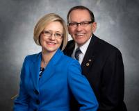 Bill & Helen Gormot, District 7120 Governor 2015-16