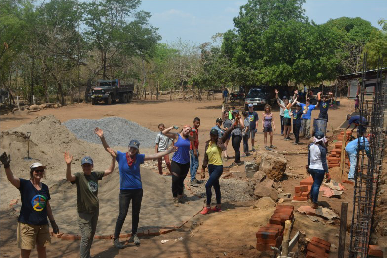 their support of building schools in remote villages in Nicaragua