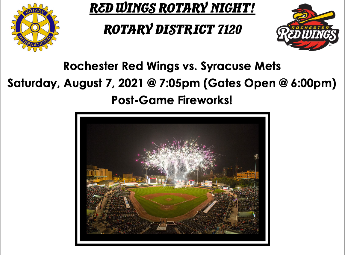 Red Wings Rotary Night