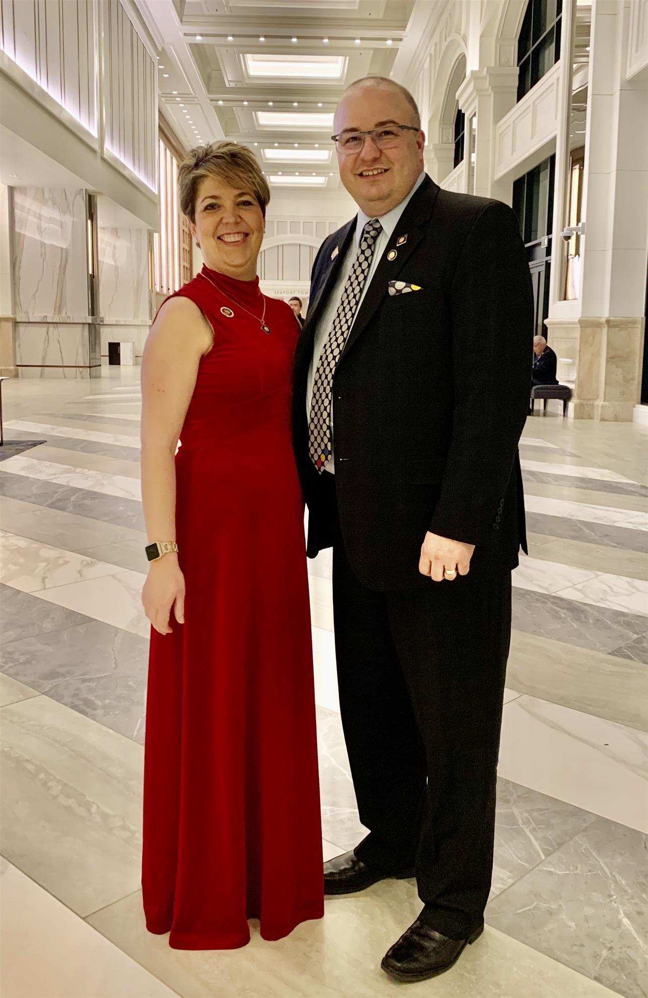 DG Joel Phillibert and his wife Valerie