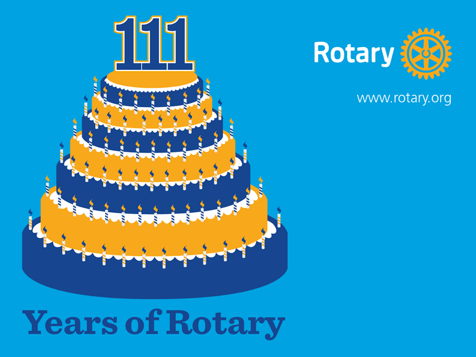 Rotary Anniversary