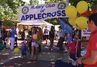 Rotary in WA - Applecross Market