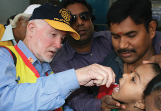 Rotary in WA - Polio Volunteer