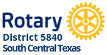 District 5840 logo