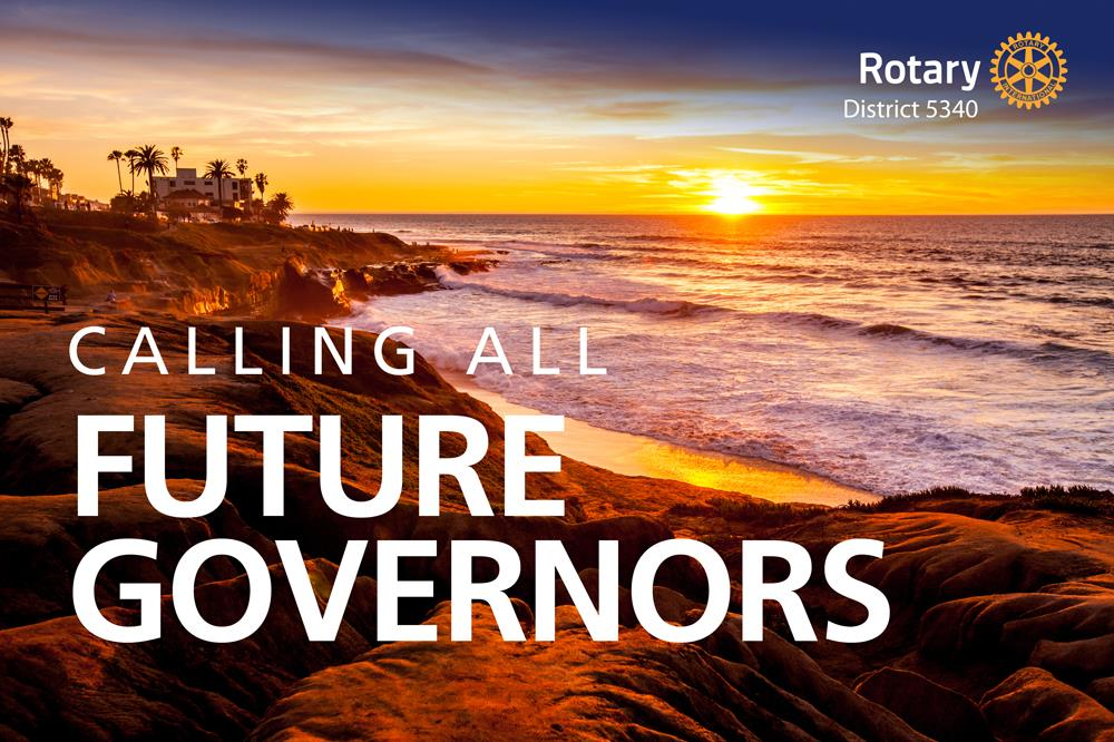 Calling All Future Governors