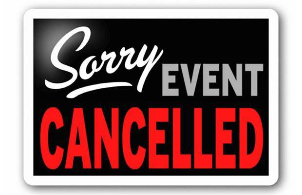 Image result for Conference cancelled