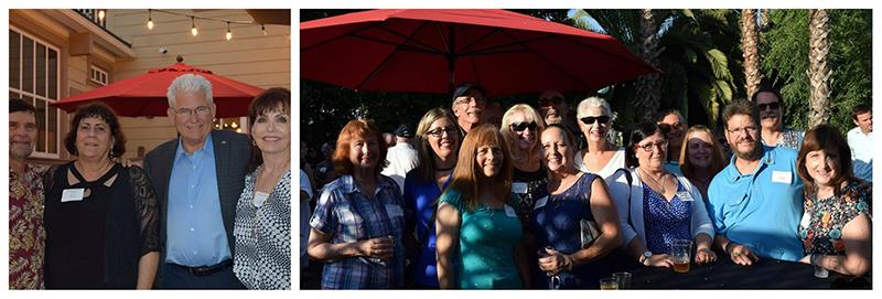 area 15 encompassing the rotary clubs of bonsall fallbrook fallbrook village and valley center gathered for fellowship on july 26 at the west social