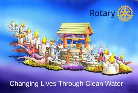 Rotary Rose Parade Float Decorating Volunteers District 5340