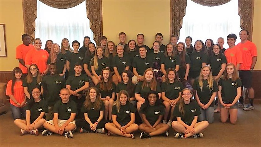 rotary youth leadership awards (RYLA) class of 2016 group photo