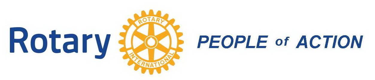 rotary people of action logo