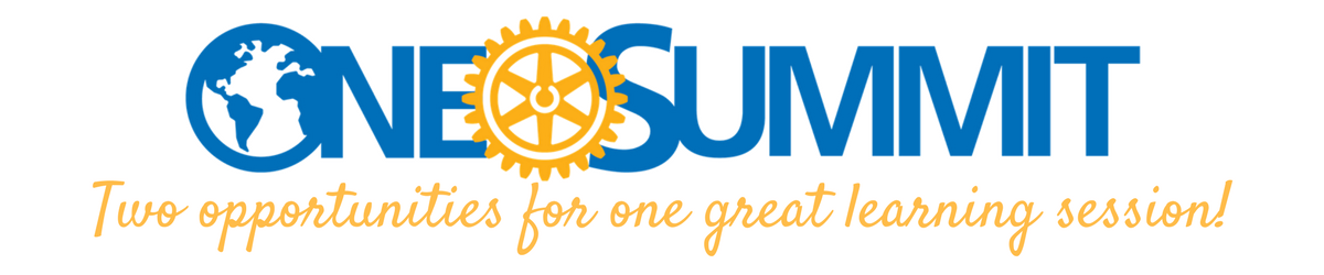 one rotary summit page header