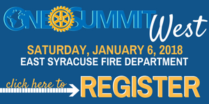 register for the january onerotary summit in east syracuse