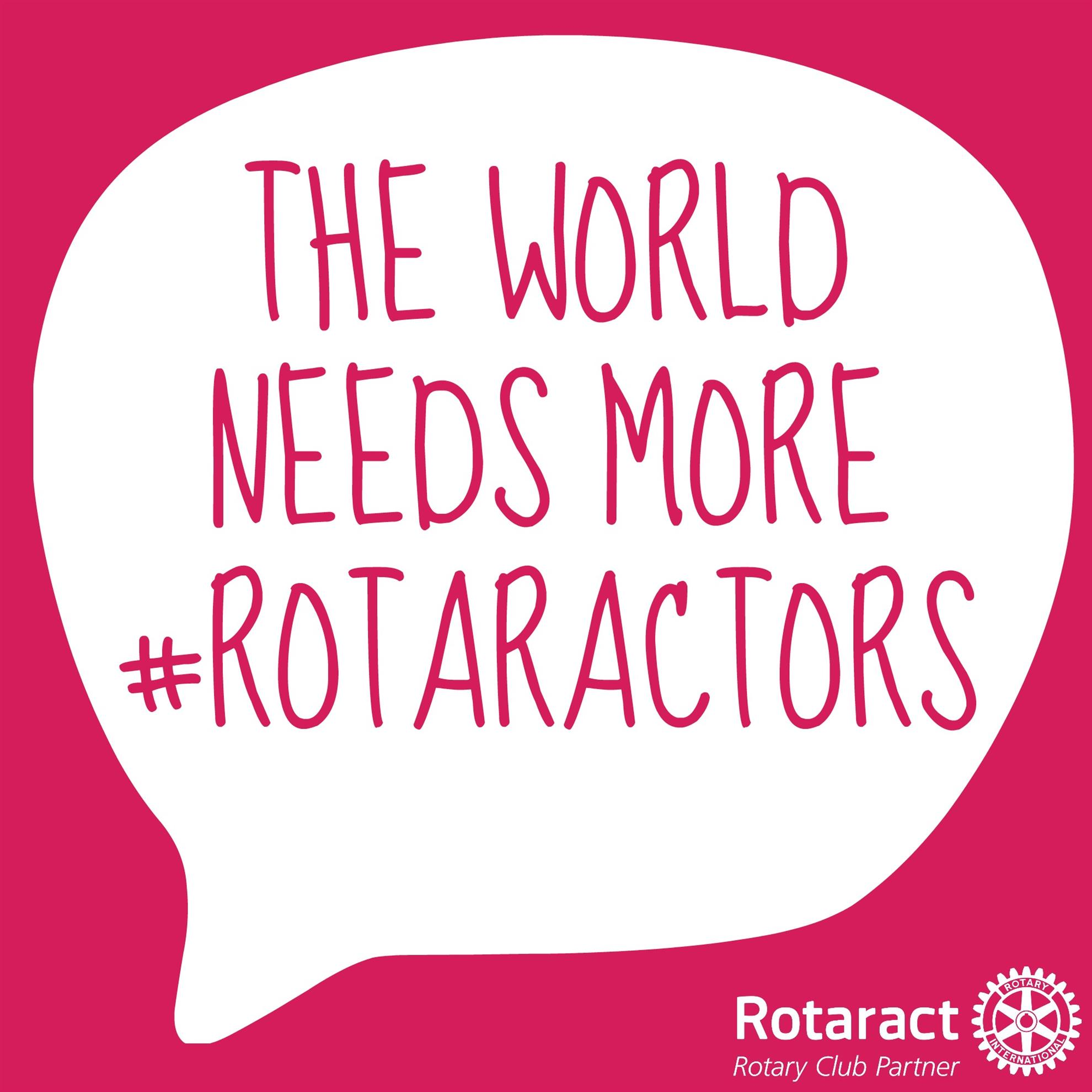 the world needs more rotaractors image