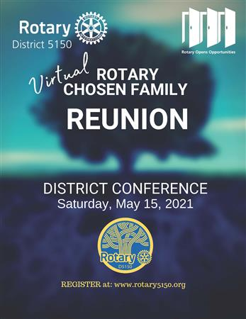 District Conference 2021 Logo
