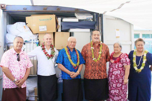The Apia Rotary Club Isted In Storage Transportation And Presentation Of Equipment