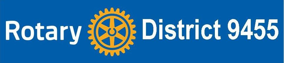 District 9455 logo