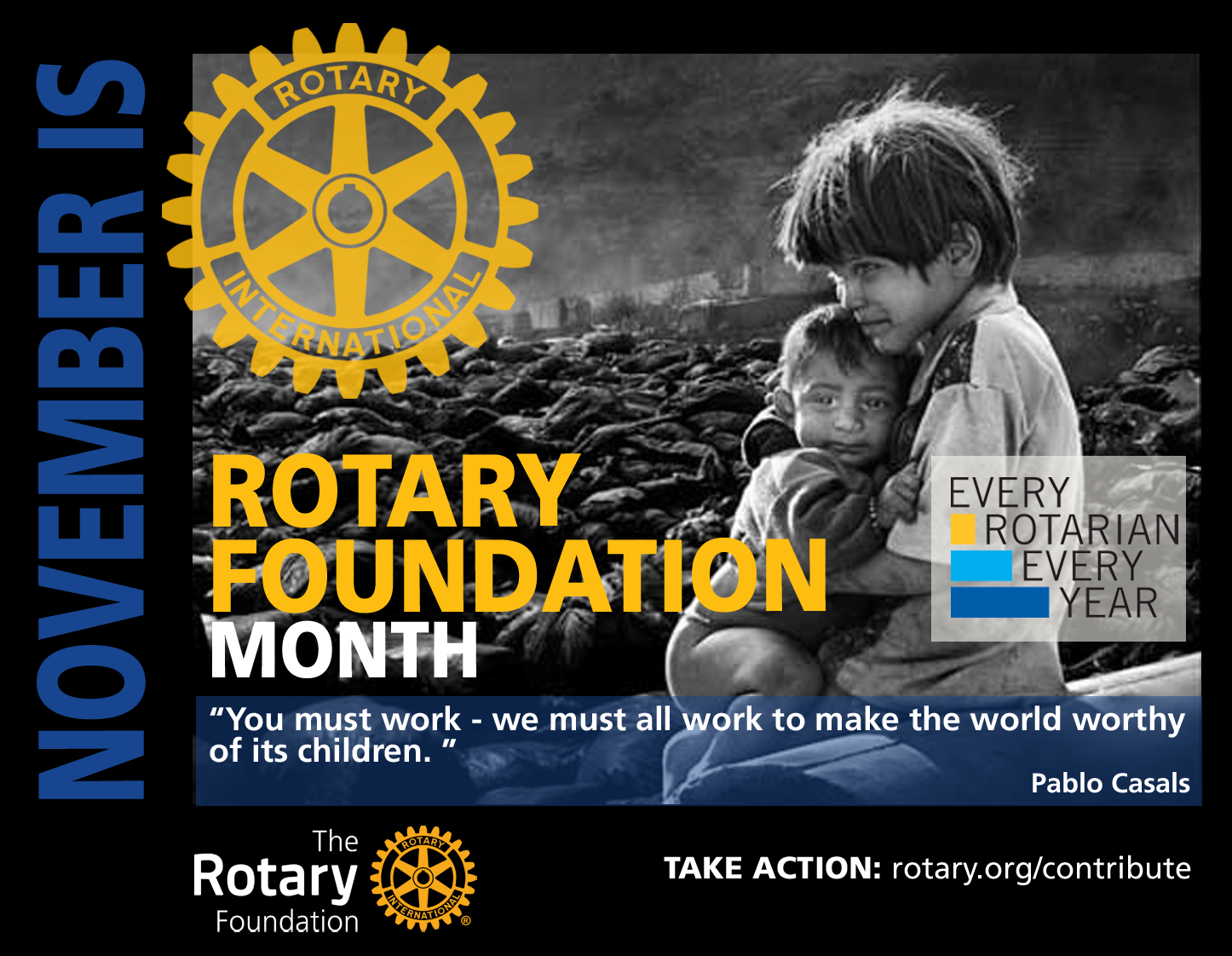 November is Foundation Month | Rotary District 5730