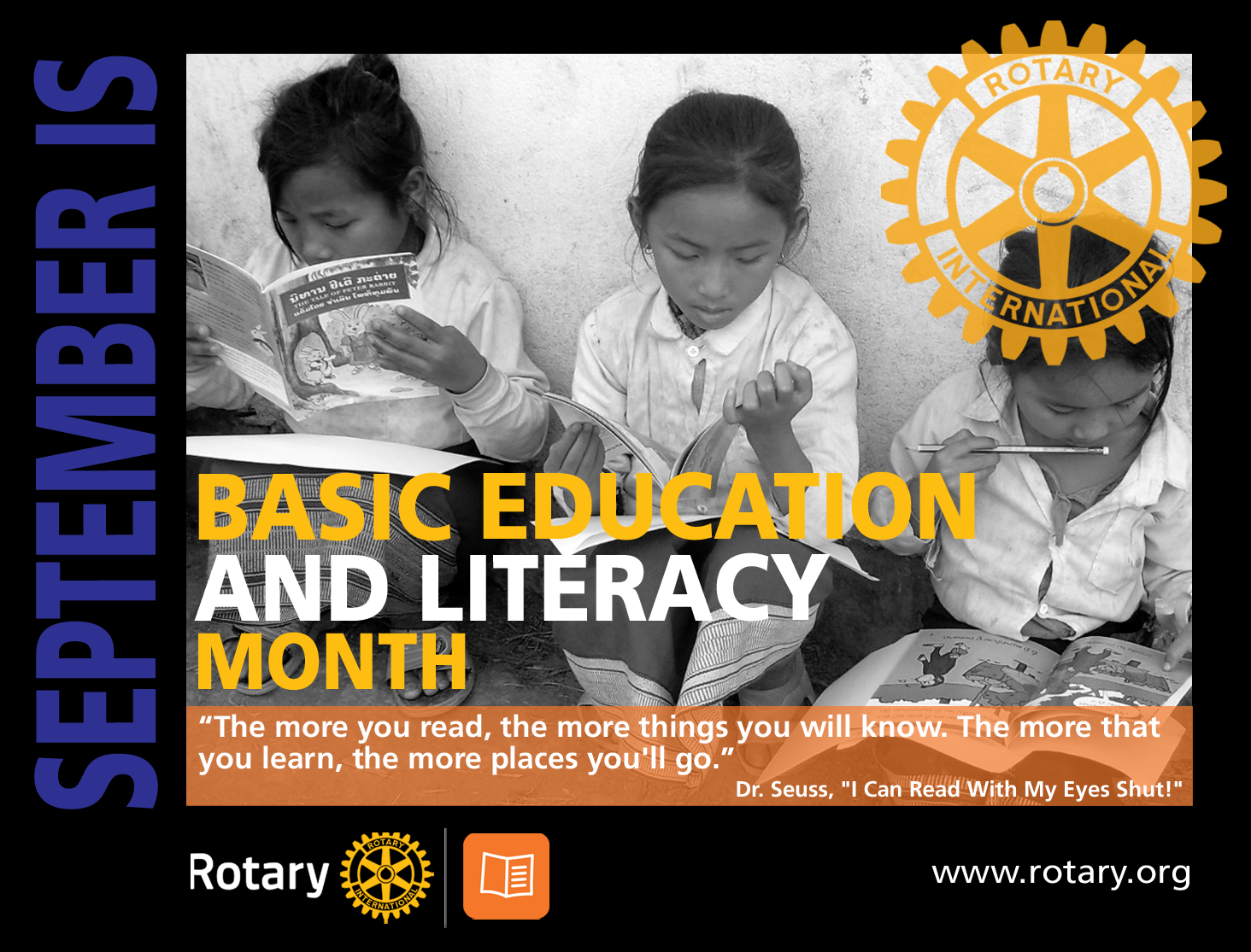 September is Basic Education & Literacy Month | District 5730