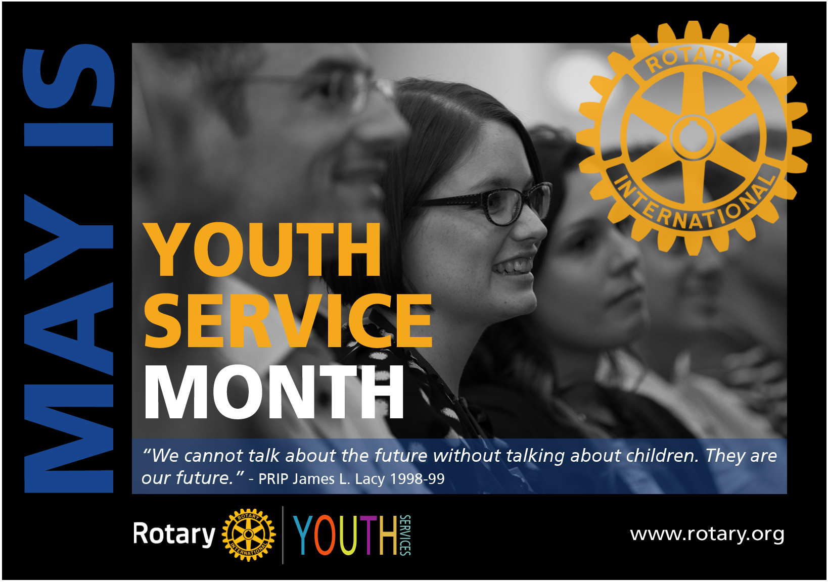 may rotary youth service month的圖片搜尋結果