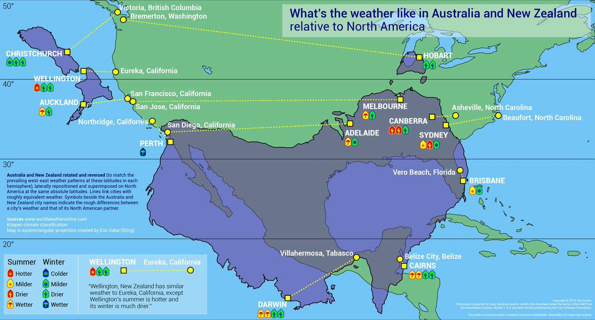 Map Of Australia And Usa.Gce Map Australia Usa Compared District 9640