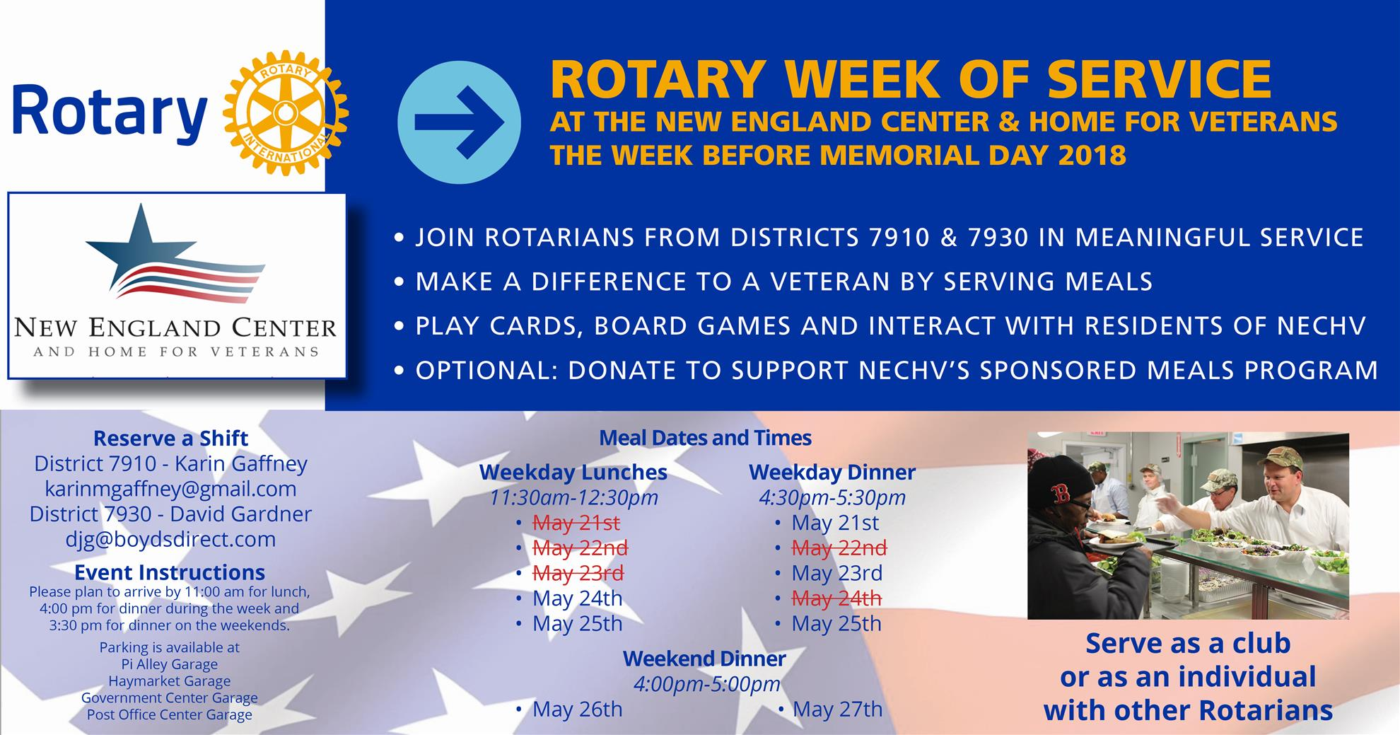 Opportunity to Serve Veterans | District 7930