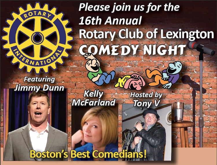 Rotary Club of Lexington Comedy Nigh
