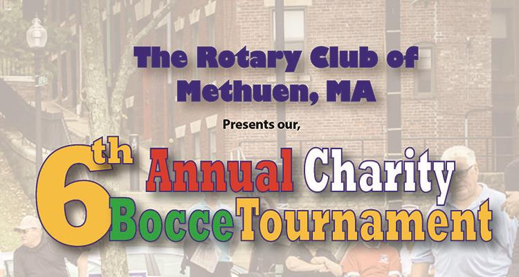 Time to get your teams ready!!!! The Methuen Rotary Club is holding it s  6th Annual Bocce Tournament. This year our tournament benefits the Methuen  Girls ... be73f2d48cf4