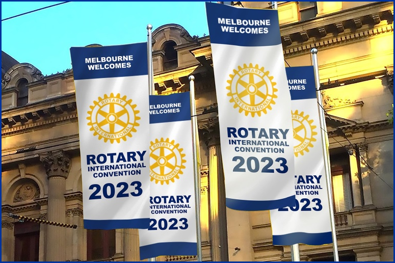 Melbourne welcomes Rotarians to 2023 RI Conference