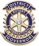 District Governor pin