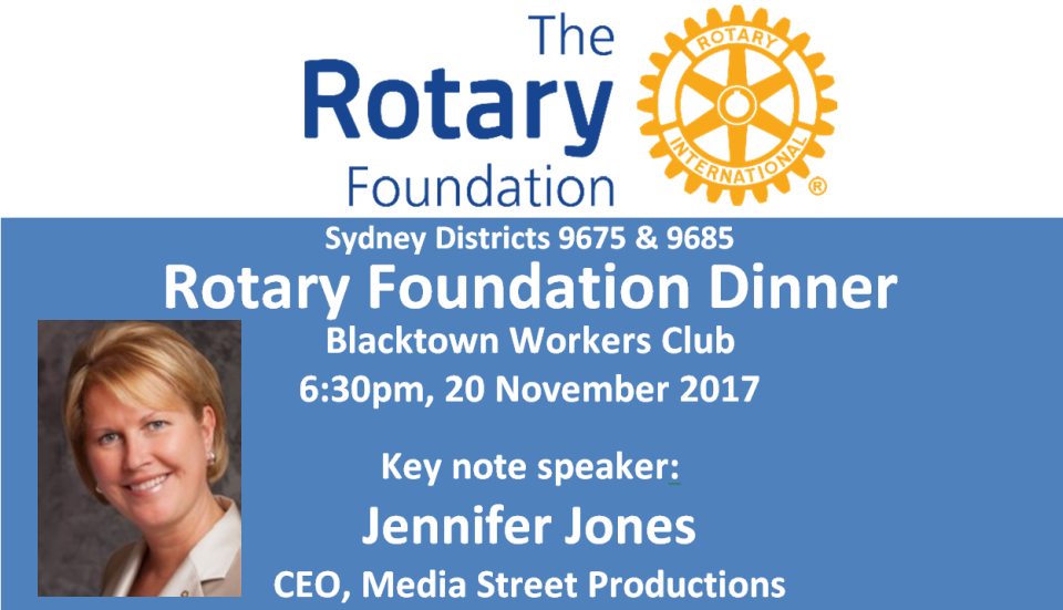 Rotary Foundation Dinner