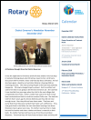 Latest newsletter for District 9675