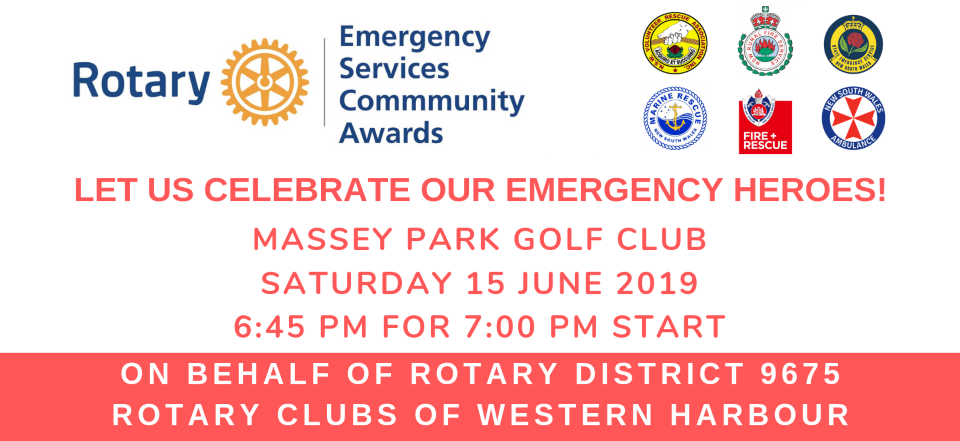 Details of Rotary Emergency Services Community Awards (Local)